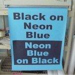 big-black-on-neon-blue