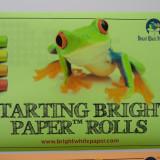 Starting Bright Paper™ Rolls 8