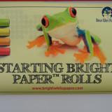 Starting Bright Paper™ Rolls 11