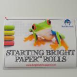 Starting Bright Paper™ Rolls 10