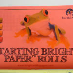 Starting Bright Inkjet Colored Paper Rolls in red