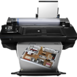 The VariQuest Perfecta 2400 color poster maker is the HP Designjet T520 24